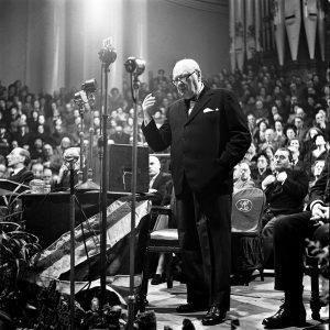 Winston Churchill, el mejor orador de la historia.
