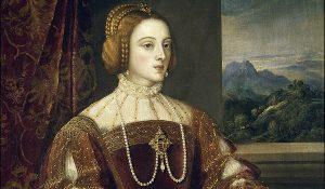 emperatriz isabel de la casa de los Austria