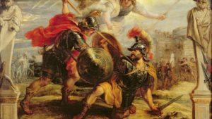 Aquiles y Hector